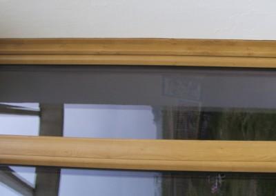 Pose des parcloses extérieurs de finition et silicone de finition extérieur
